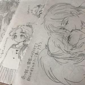 アナログ原画20枚セット(2012~2014年)