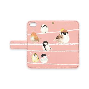 鳥ちゃんiPhoneケース:ピンク
