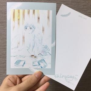 【ポストカード】知識の子