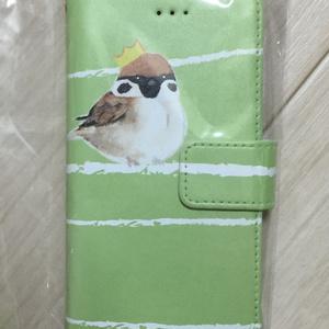 【iPhoneケース】野鳥:緑