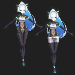 【3Dモデル】シルヴェスト【VRC】