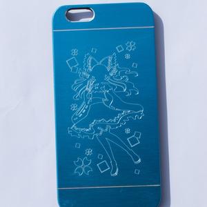 iPhone6/6sメタルケース 霊夢