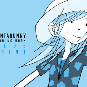 【新刊】SANTABUNNY DRAWING BOOK 「BLUE PRINT」
