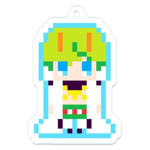 【卍傑】コノハテング/ドットキーホルダー