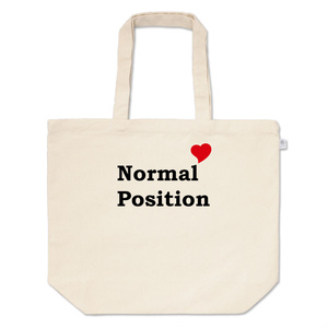 Normal Position トートバッグ