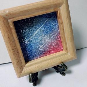 流れ星のミニ原画