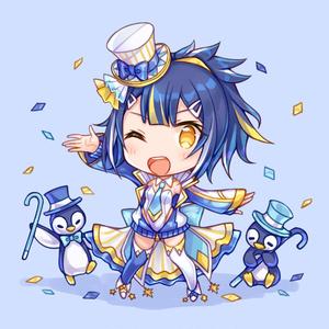 ペンギンちゃんアクリルフィギュア
