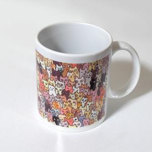 【送料無料】にゃんこ大集合 マグカップ