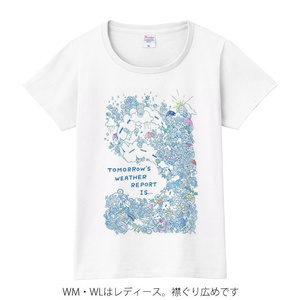 【送料無料】メンズ・レディース・キッズサイズ有★カエルの天気予報 Tシャツ