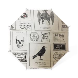 ゴシックホラーデザインのミニ傘