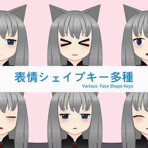 オリジナル3Dキャラクターモデル「ユノン」 Ver.1.0.0