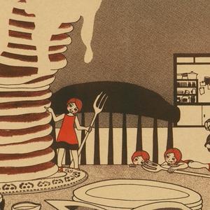 ブックカバー『eat the pancakes』