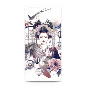 【牡丹と蝶】iPhoneケース