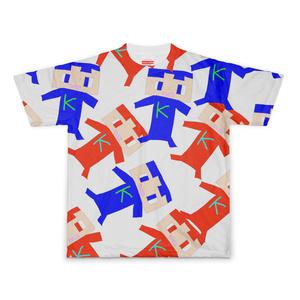 コヒたちのフルグラフィックTシャツ