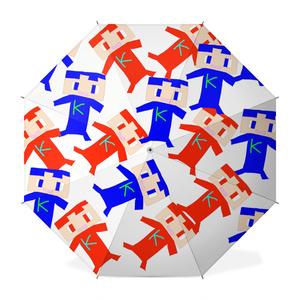 コヒたちの長傘