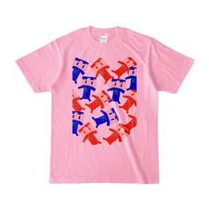 コヒたちのカラーTシャツ 『ピンク』