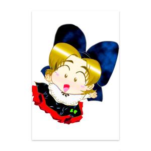 【ポストカード】ロコトルア民族衣装シリーズ1 アルザス地方(カミィユ)
