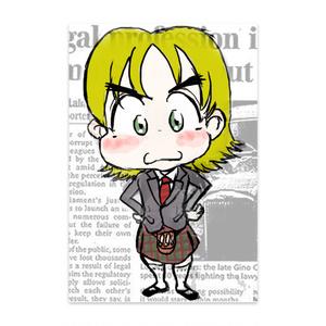 【ポストカード】ロコトルア民族衣装シリーズ2 スコットランド(カイル)