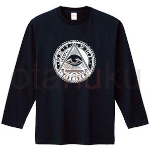 古明地さとり フリーメイソン ロングスリーブTシャツ