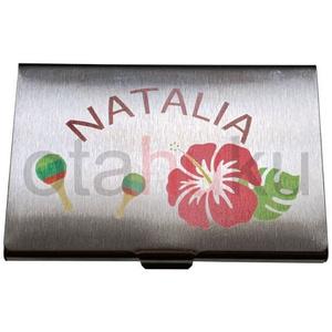 ナターリア 金属名刺ケース