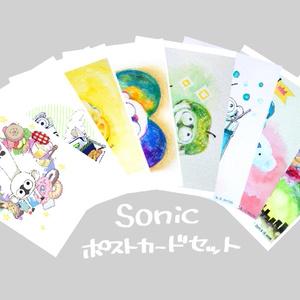 【血界戦線】ソニックポストカードセット