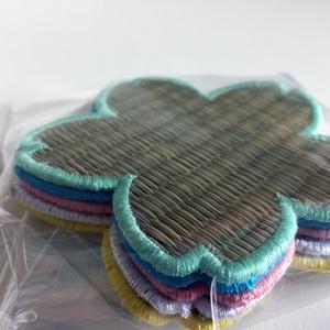 【Tatapi】桜畳コースター 5枚セット (5色カラー)