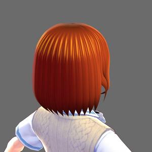 【VRoid】ヘアプリセット ショートヘア