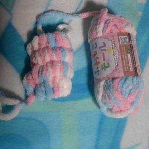 手編みのマフラー Vtuber【とらなねこ】