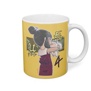 UE4 勝手キャラ「餡」マグカップ