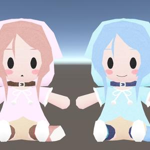 【3Dモデル】櫻歌ミコぬいぐるみ