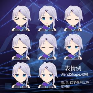 オリジナル3Dモデル【TEN-テン-】