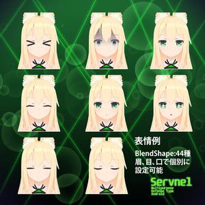 オリジナル3Dモデル【Servnel-セーブネル-v.1.0.4】