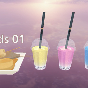 【3Dモデル】KD Foods 01