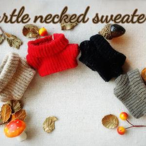 ぬい服  ニットセーター コーデセット