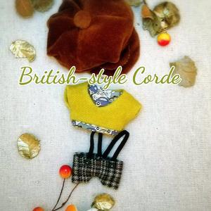 ぬい服 英国風 秋冬物コーデセット