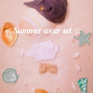 夏物コーデセット ぬい服