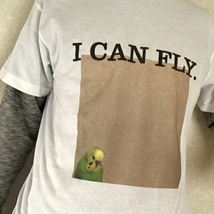 小次郎Tシャツ[I CAN FLY.]