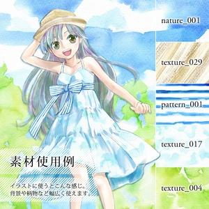 テクスチャ素材集「水彩」ver1.1