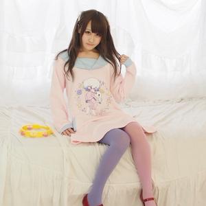 〔サンプル品〕おばけセーラースウェット/ピンク/Mフレア