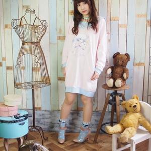 〔サンプル品〕おばけセーラースウェット/ピンク/旧XL