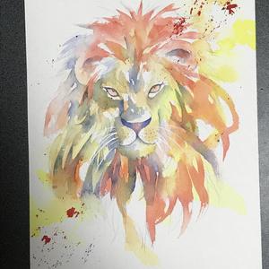 《便箋》ライオン