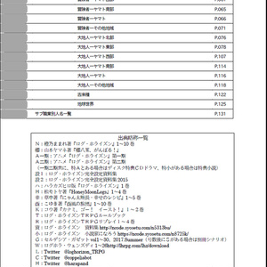 Index of LOGHORIZON vol.5