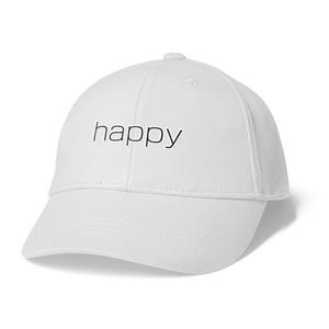 happyキャップ(white)