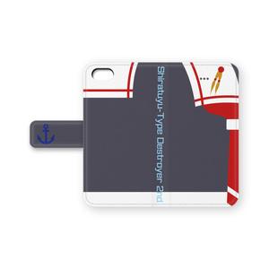 時雨iPhoneケース(手帳型)
