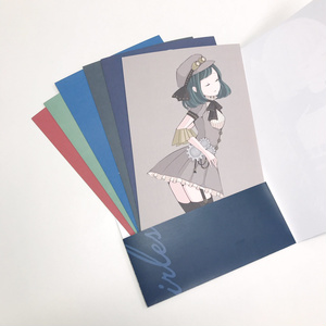 イラストカードセット「カラーパレットガールズ」