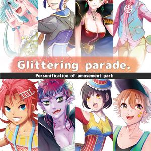 Glittering parade.