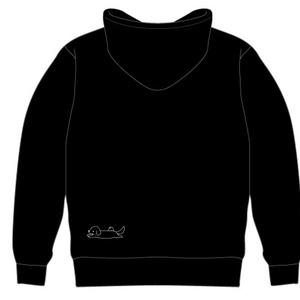 ばんびちゃんパーカー(黒)
