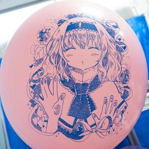 アリスちゃんのちゅっちゅ風船(24インチ)