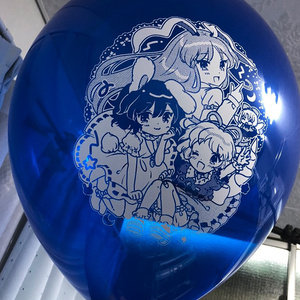 うどんげメディちゃんてゐちゃん風船+おまけイラスト付き!
