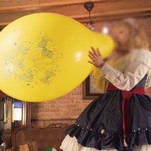 アリスちゃんの風船遊び